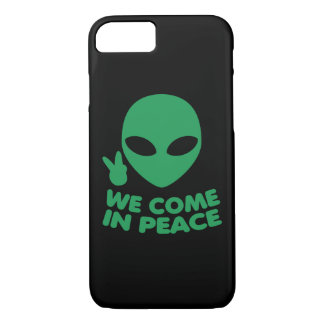 We Come In Peace Alien iPhone 8/7 Case
