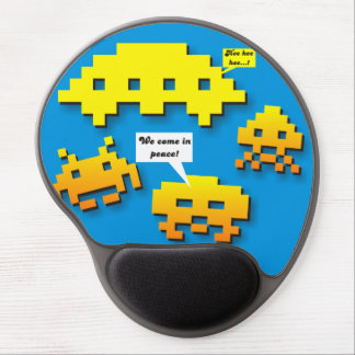 We Come in Peace Hee Hee Gel Mouse Pad