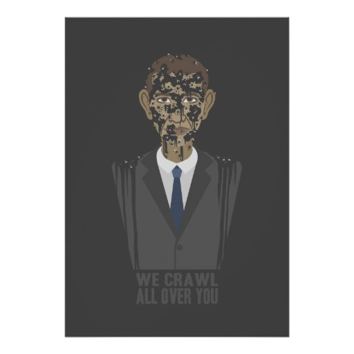 We Crawl All Over You Poster