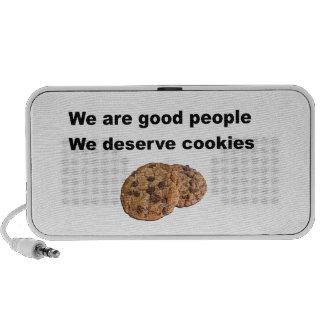 We Deserve Cookies Mini Speaker