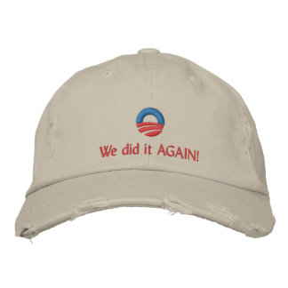 We did it AGAIN! Embroidered Hats