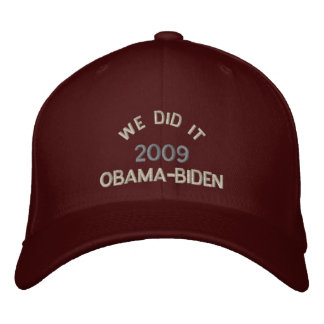 We Did It Embroidered Hats