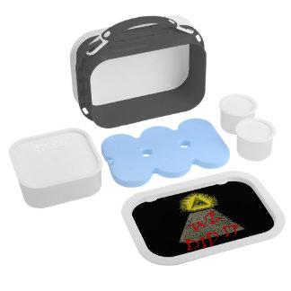 we did it (illuminati) lunch box