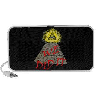we did it (illuminati) portable speaker