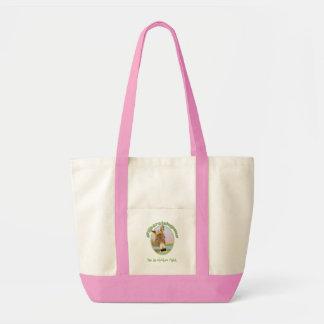 We do chicken right impulse tote bag