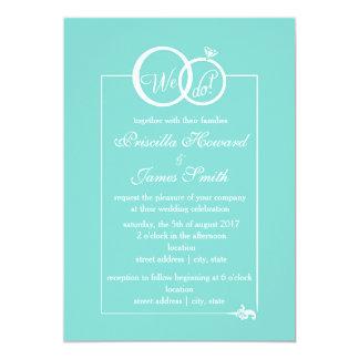We Do Wedding Card