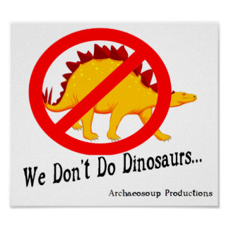 We Don't Do Dinosaurs: Poster