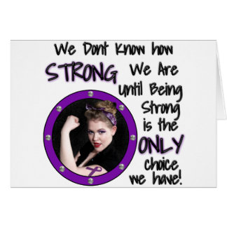We Dont Know how STRONG... Card