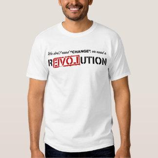 We Don't Need Change... Tshirts