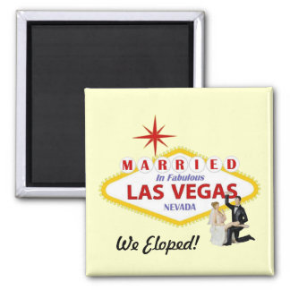 We Eloped! Married in Las Vegas Magnet
