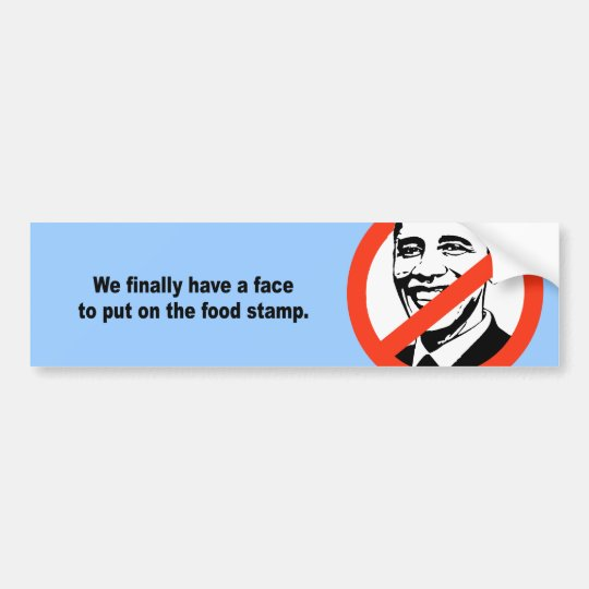 We finally have a face to put on the food stamp bumper sticker