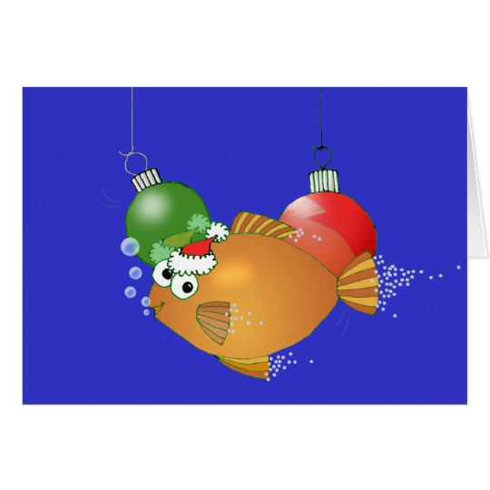 We Fish you a Merry Christmas! Card