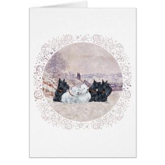 We Five Winter Cards