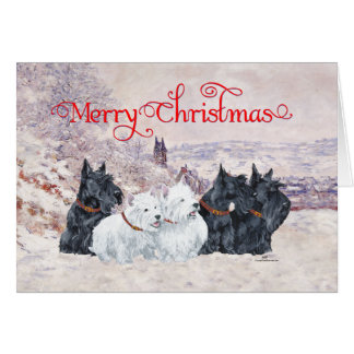 We Five Winter Greeting Card