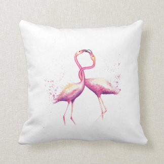 We Flamin-GO So Well Together! Cotton Pillow