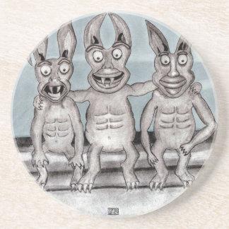 We Gargoyles Three Coaster