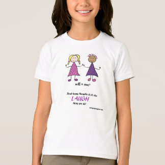 wE Girls Ringer T-shirt