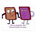 We go together Like....Card Postcard