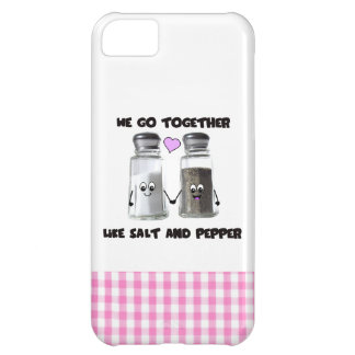 We go together like salt and pepper iPhone 5C case