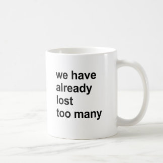 we have already lost too many coffee mugs