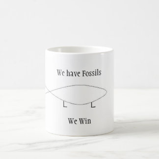 We have Fossils Basic White Mug