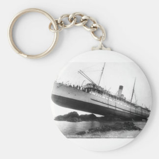 We Have Lift-Off: 1910 Basic Round Button Key Ring