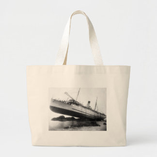 We Have Lift-Off: 1910 Jumbo Tote Bag