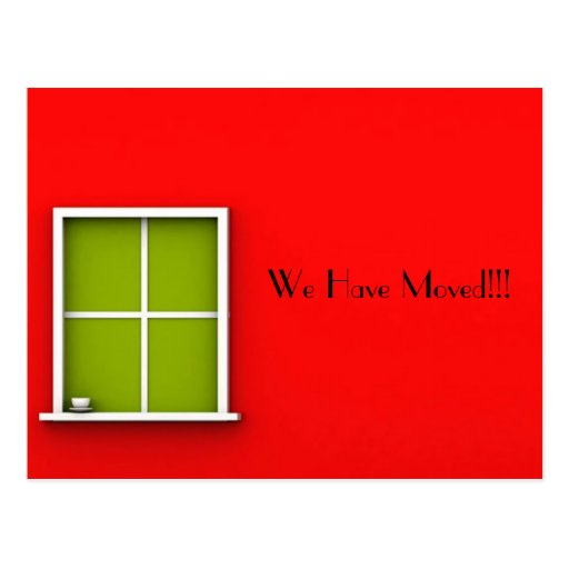 we have moved cards templates - we have moved postcards we have moved postcard templates