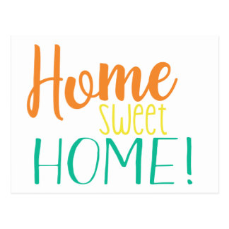 We Have Moved | Simple Postcard | Home Sweet Home
