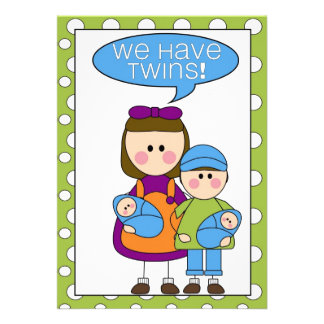 we have twins siblings announcement