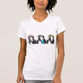 We Hear, We Speak, We See Things T Shirts
