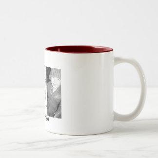 we heart grandpa Two-Tone coffee mug
