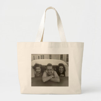 We just stopped by to say Hi! Jumbo Tote Bag