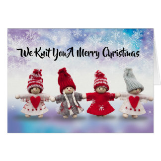 We Knit You A Merry Christmas Card
