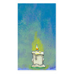 We Light a Candle & Give Thanks inspirational art Pack Of Standard Business Cards