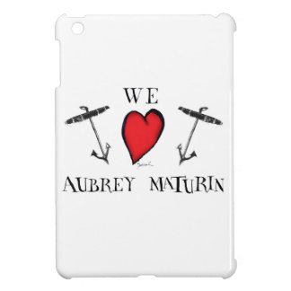 we love aubrey maturin, tony fernandes cover for the iPad mini