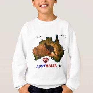 WE LOVE AUSTRALIA. SWEATSHIRT