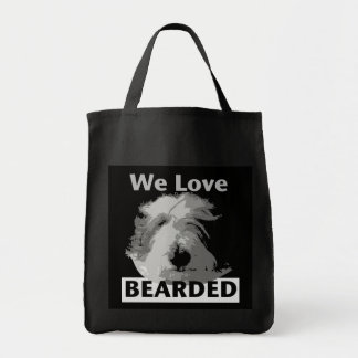 We Love BEARDED Tote Bag