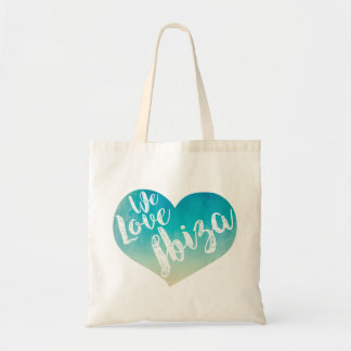 """We love Ibiza "" Tote Bag"