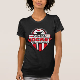 We Love Our Canadian Hockey! T Shirts