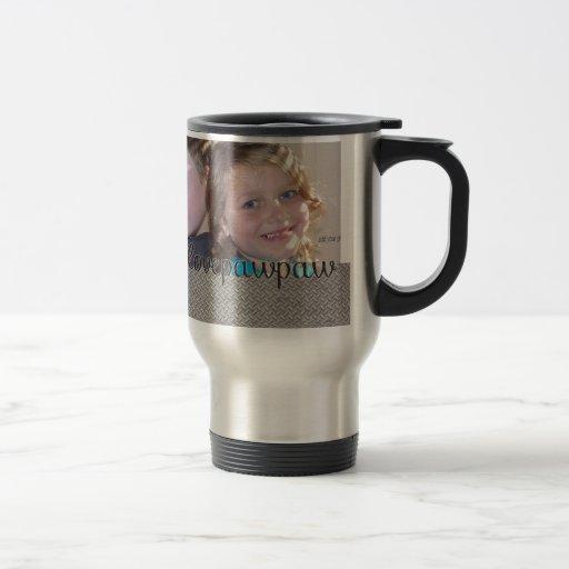 We Love Our Pawpaw  Add Your Photo Mug