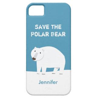 We Love Polar Bears - Save the Polar Bear Barely There iPhone 5 Case