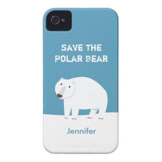 We Love Polar Bears - Save the Polar Bear Case-Mate iPhone 4 Cases