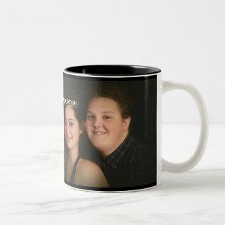 WE LOVE POP-POP photo mug black inside