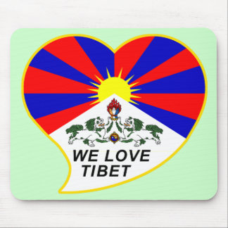 We love Tibet Mousepads