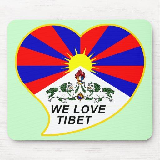 We love Tibet Mousepads