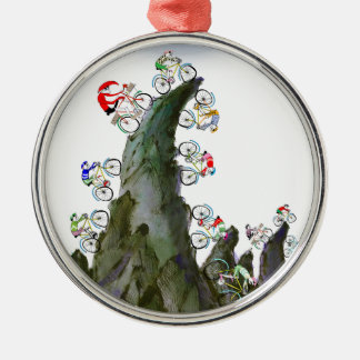 we love tour d' yorkshire christmas ornament
