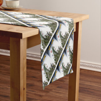 we love tour d' yorkshire short table runner
