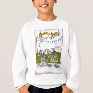 we love yorkshire 'appen bus is late sweatshirt