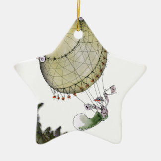 we love yorkshire pickled onion christmas ornament